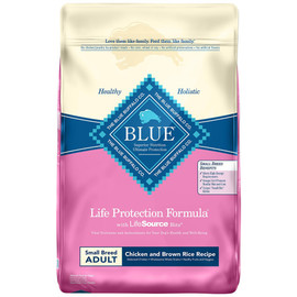 Blue Life Protection Formula Small Breed Chicken and Brown Rice Recipe Dry Dog Food