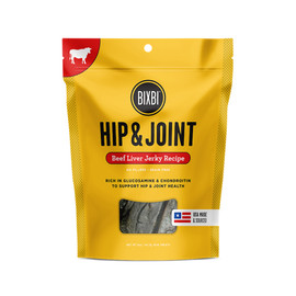 Bixbi Hip & Joint Beef Liver Jerky Recipe Dog Treats