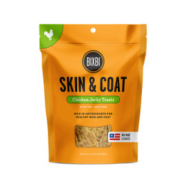 Bixbi Skin & Coat Chicken Jerky Treats for Dogs