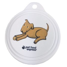 Pet Food Express Can Cap for Dogs