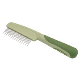 Safari Shedding Dog Comb with Rotating Teeth