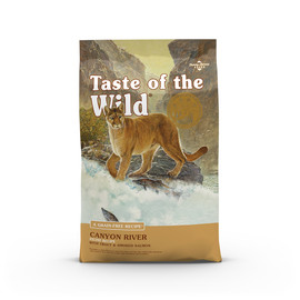 Taste of the Wild Canyon River Feline Recipe Dry Cat Food - Front