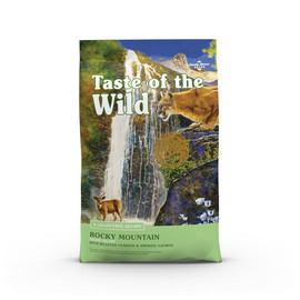 Taste of the Wild Rocky Mountain Feline Recipe Dry Cat Food - Front