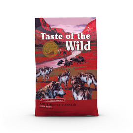 Taste of the Wild Southwest Canyon Recipe Dry Dog Food - Front