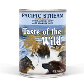 Taste of the Wild Pacific Stream Canine Formula Canned Dog Food - Front
