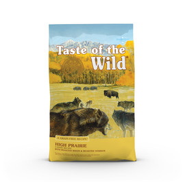 Taste of the Wild High Prairie Canine Recipe Dry Dog Food - Front