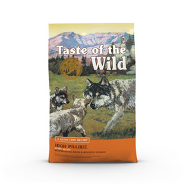Taste of the Wild High Prairie Puppy Recipe Dry Dog Food - Front