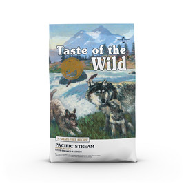 Taste of the Wild Pacific Stream Puppy Recipe Dry Dog Food - Front