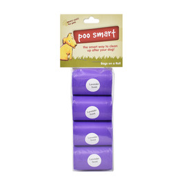 Poo Smart Lavender Scent Dog Waste Disposal Refill Bags