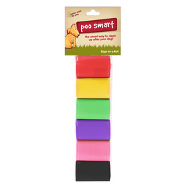 Poo Smart Rainbow Dog Waste Disposal Refill Bags