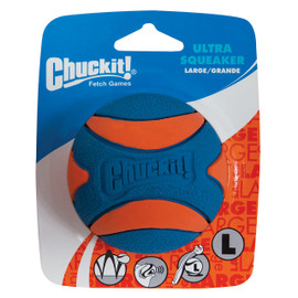 Chuckit! Large Ultra Squeaker Ball Dog Toy