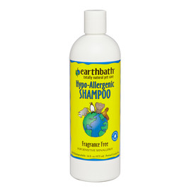 Earthbath Hypo-Allergenic Fragrance Free Pet Shampoo