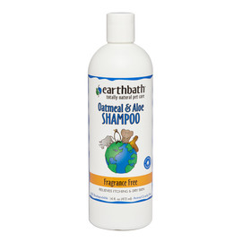 Earthbath Oatmeal & Aloe Shampoo Fragrance Free for Pets