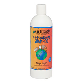 Earthbath Mango Tango 2-in-1 Conditioning Shampoo for Pets