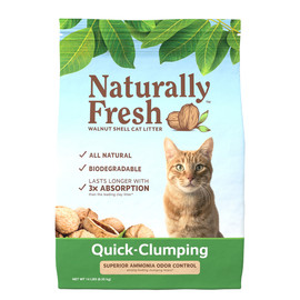 Naturally Fresh Quick-Clumping Cat Litter - Front, 14 lb