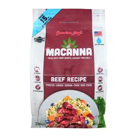 Grandma Lucy's Macanna Beef Grain-Free Freeze-Dried Dog Food