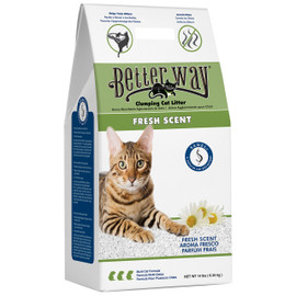 Better Way Fresh Scent Clumping Bentonite Cat Litter