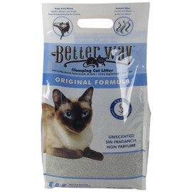 Better Way Original Unscented Clumping Bentonite Cat Litter