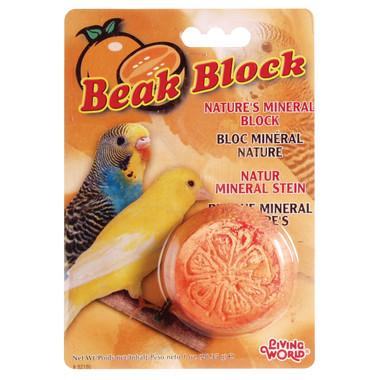 Living World Mineral Block for Parakeets, Orange
