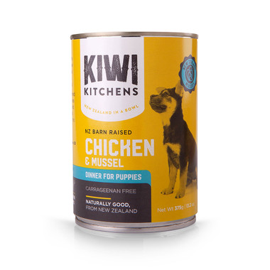 Kiwi Kitchens Chicken Mussel Dinner Canned Puppy Food Pet Food