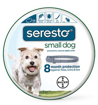click here to shop Seresto Flea & Tick Dog Collar - Small