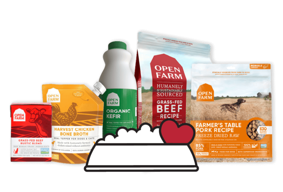 Open Farm products