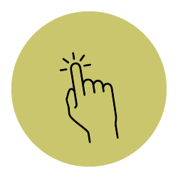 Icon of pointing finger