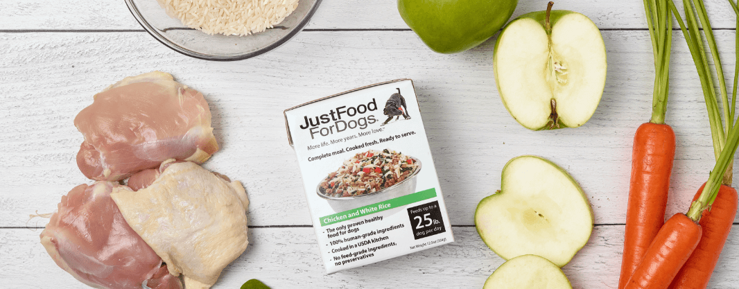 JustFoodForDogs products