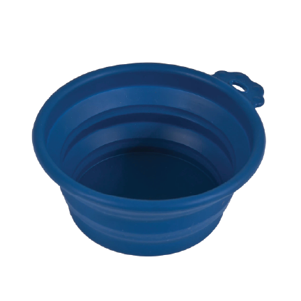 click to shop Petmate Silicone Round Travel Pet Bowl