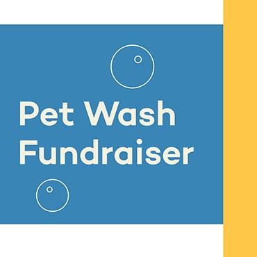pet wash fundraiser