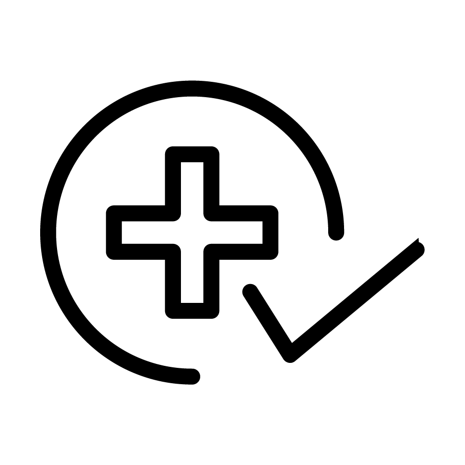 Icon of health symbol