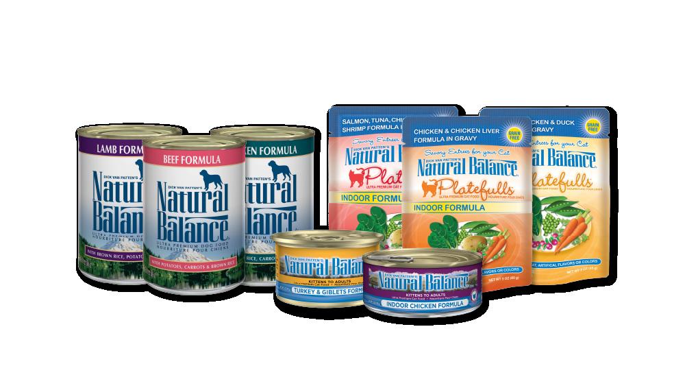 Natural Balance products