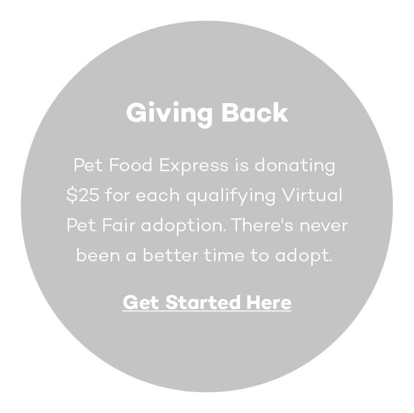 Giving Back: Pet Food Express is donating $25 for each qualifying Virtual Pet Fair