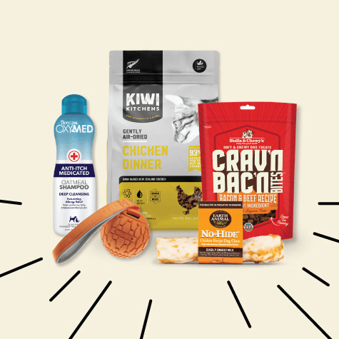 Products from sponsors Nulo, The Honest Kitchen, and Primal