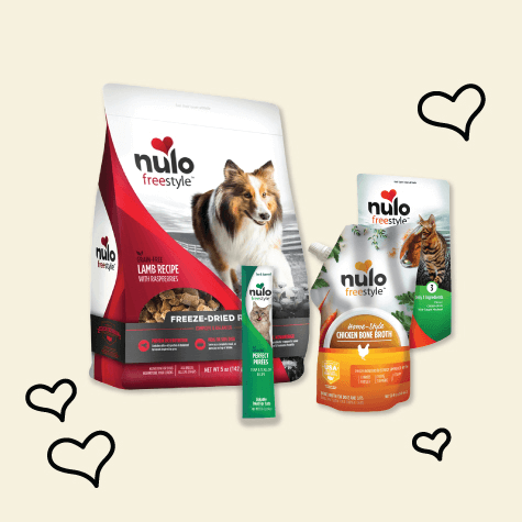 A Variety of Nulo products
