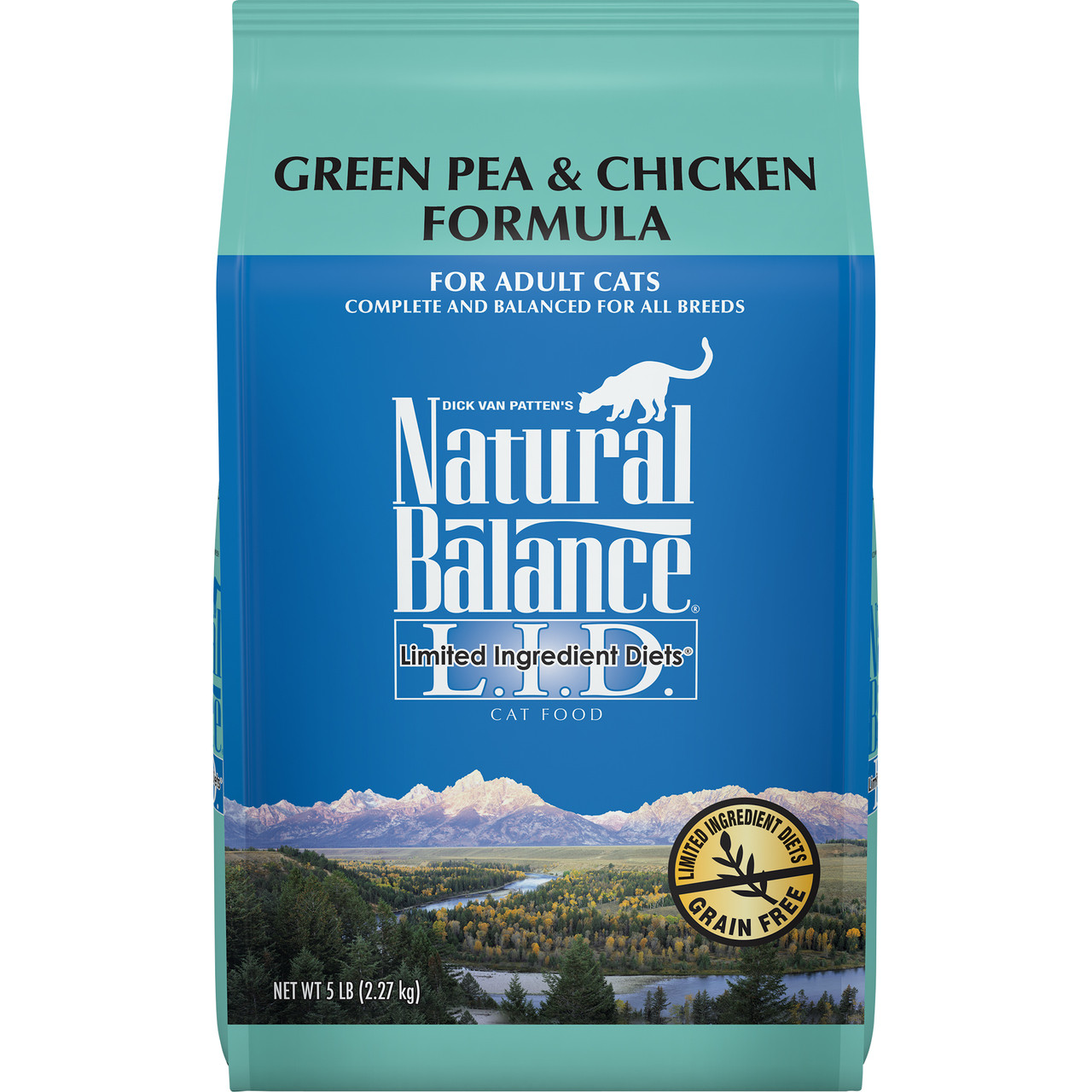 click here to shop Natural Balance Limited Ingredient Diets Green Pea & Chicken Formula Dry Cat Food.
