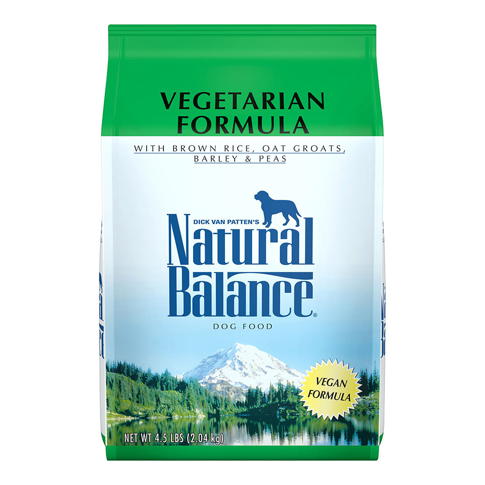 click here to shop Natural Balance Vegetarian Formula Dry Dog Food