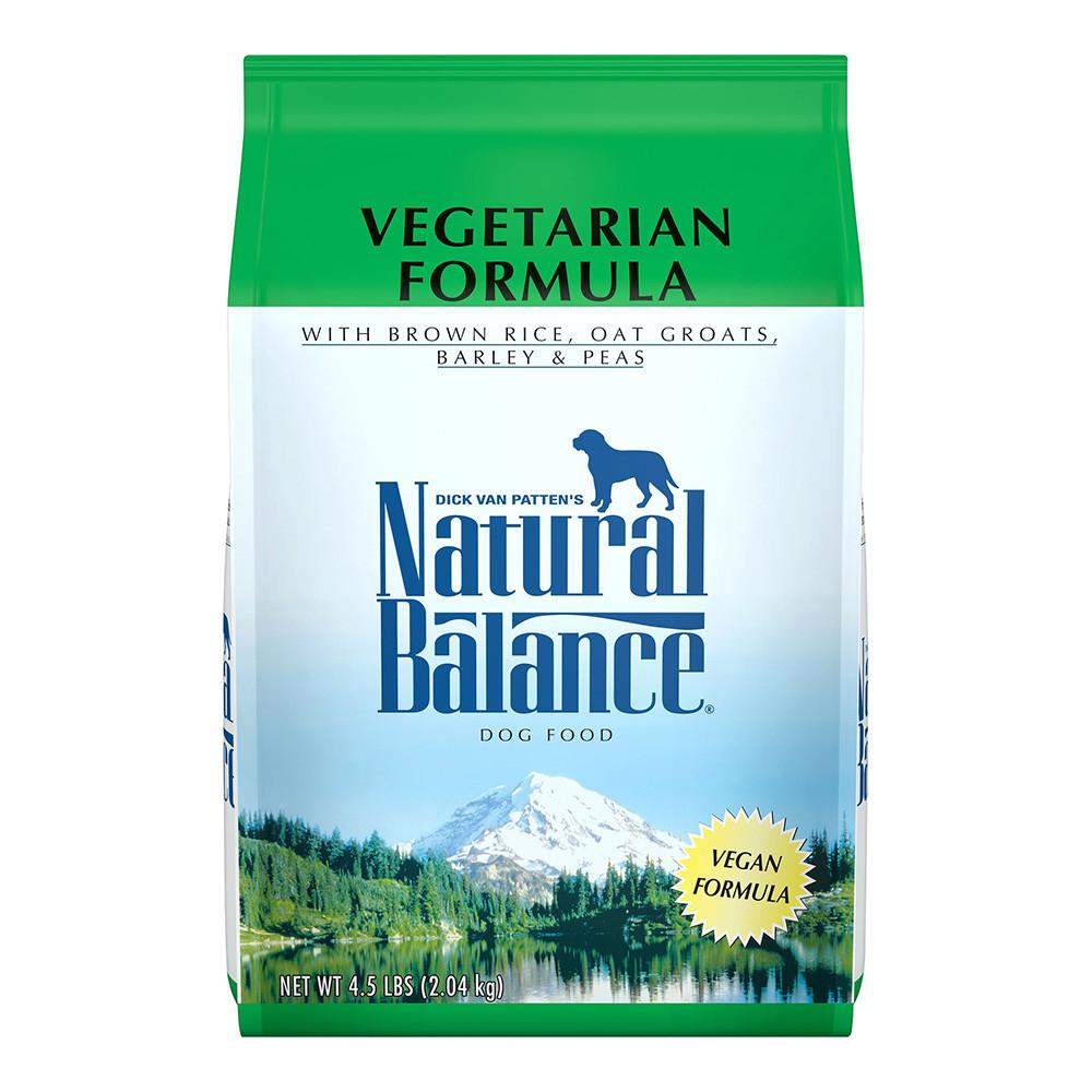 click here to shop Natural Balance Vegetarian Formula Dry Dog Food