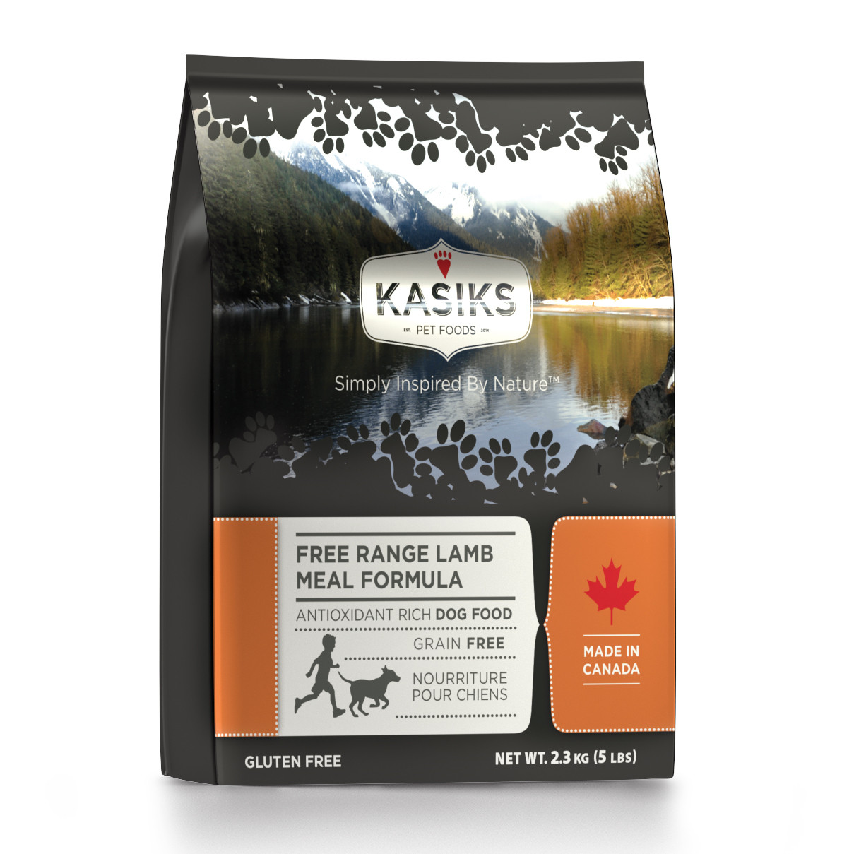 click here to shop Kasiks Free Range Lamb Meal Formula Dry Dog Food
