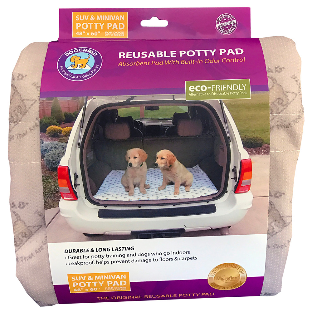 click here to shop PoochPad SUV Dog Pee Pad