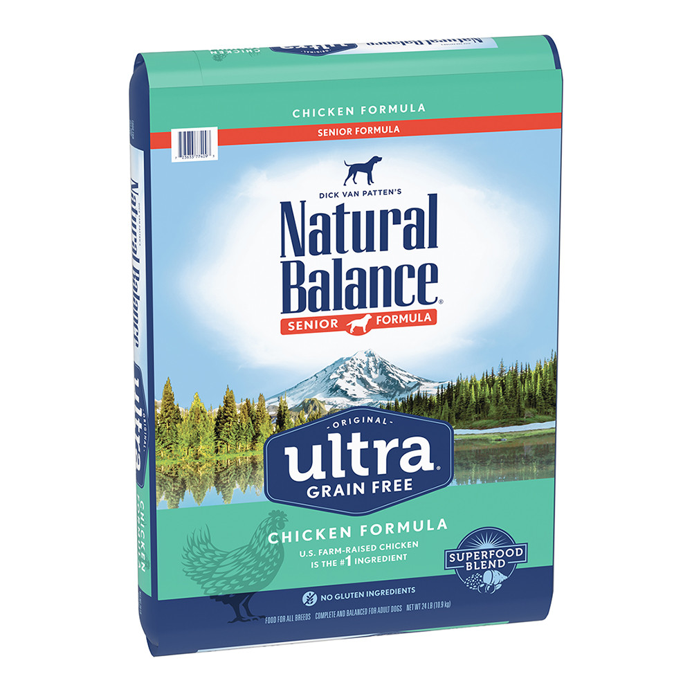 click here to shop Natural Balance Original Ultra Senior Chicken Formula Dry Dog Food