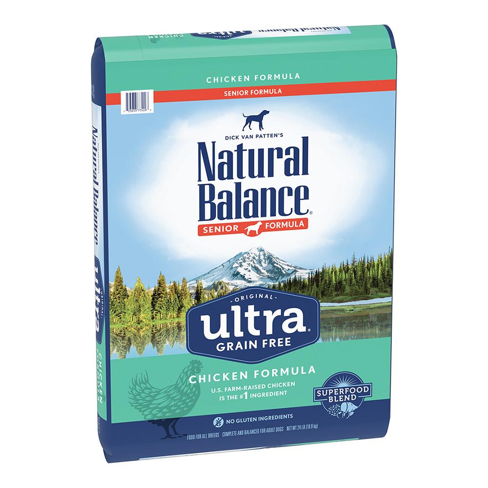 click here to shop Natural Balance Original Ultra Senior Chicken Formula Dry Dog Food