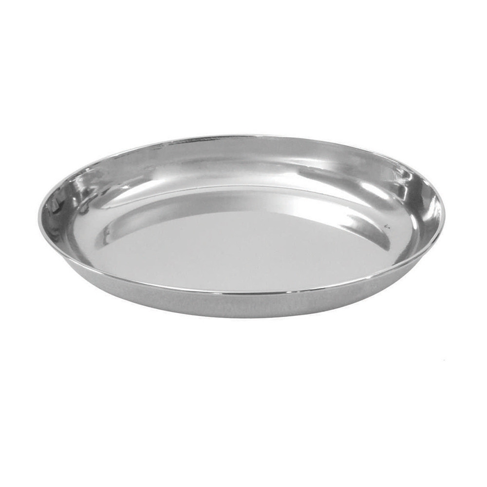 click here to shop Dineasty Stainless Steel Oval Cat Bowl
