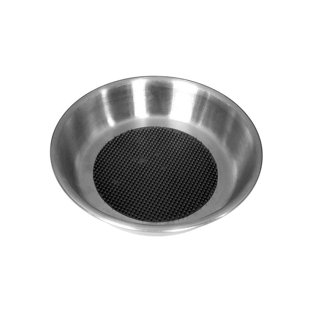 click here to shop Dineasty Stainless Steel Textured Cat Bowl
