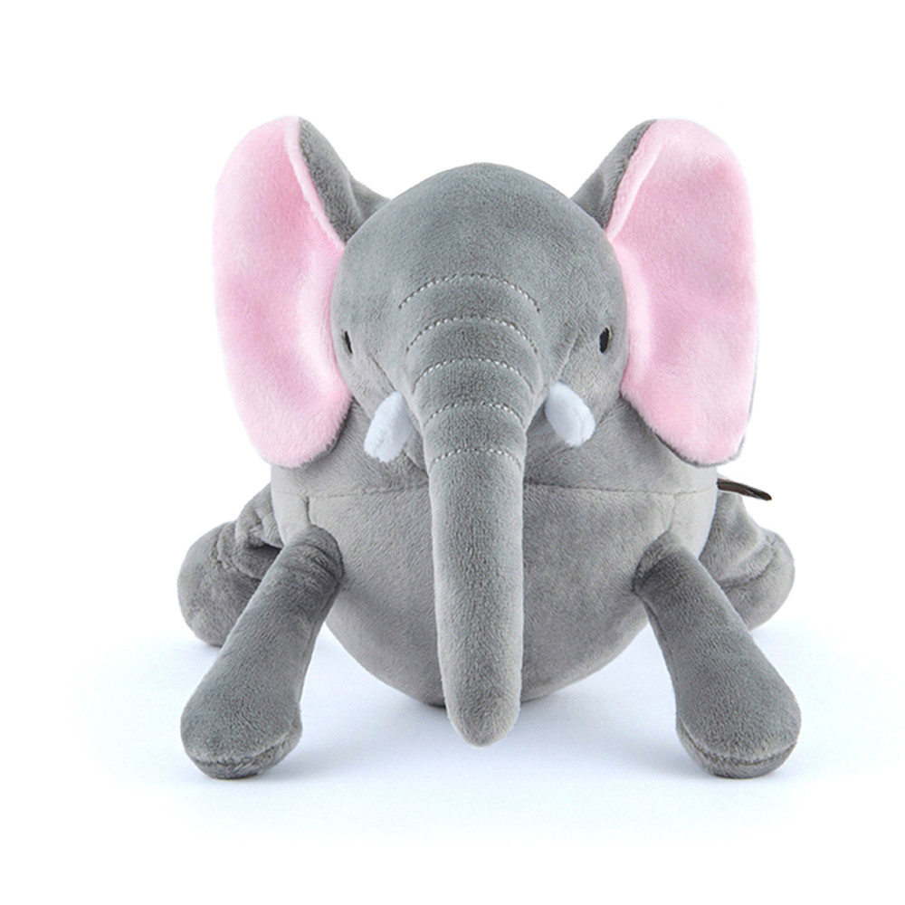 click here to shop P.L.A.Y. Safari Ernie The Elephant Plush Squeaky Dog Toy