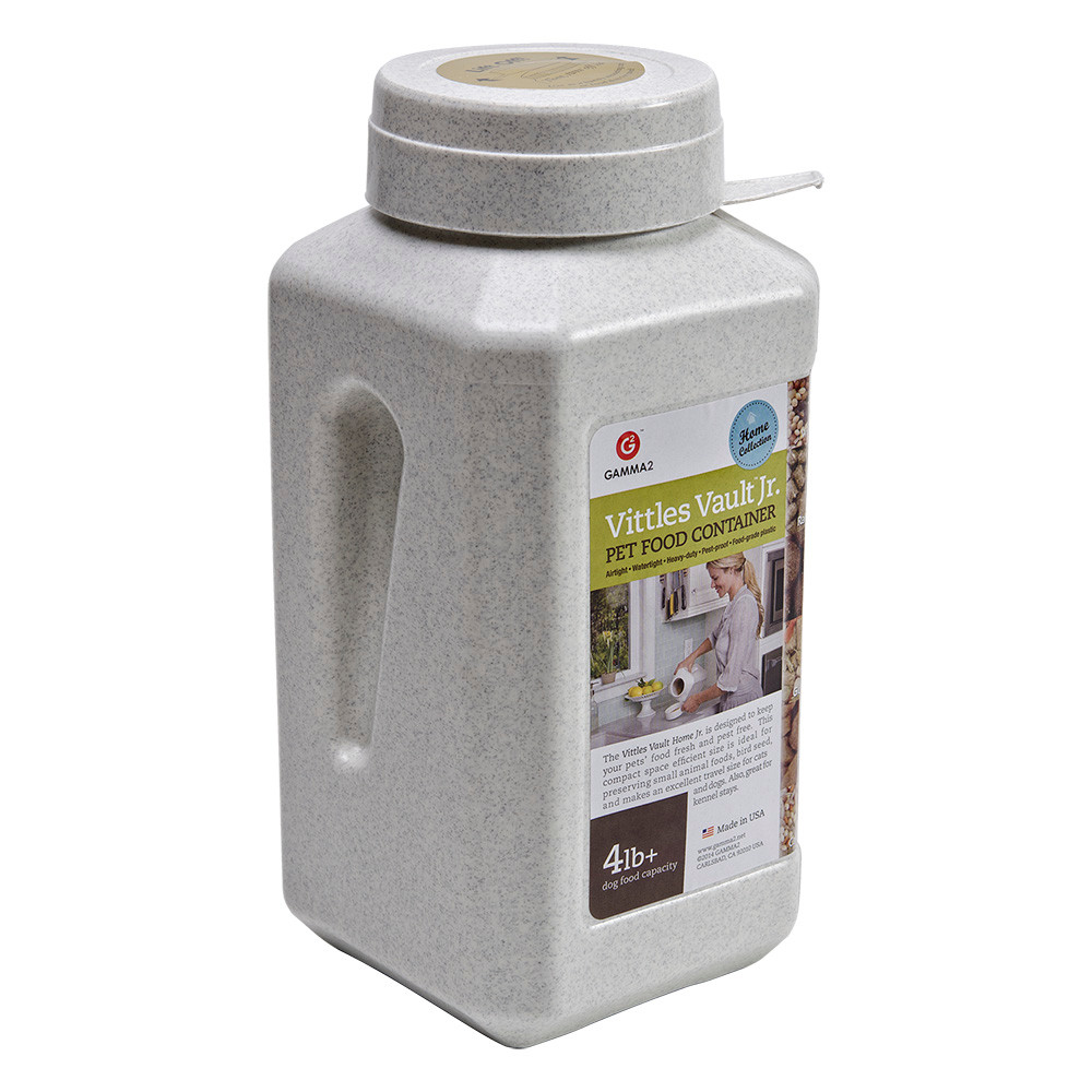 click here to shop Vittles Vault Junior Pet Food Container