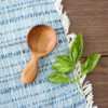 Wide Handcrafted Coffee Scoop by Wood & Button