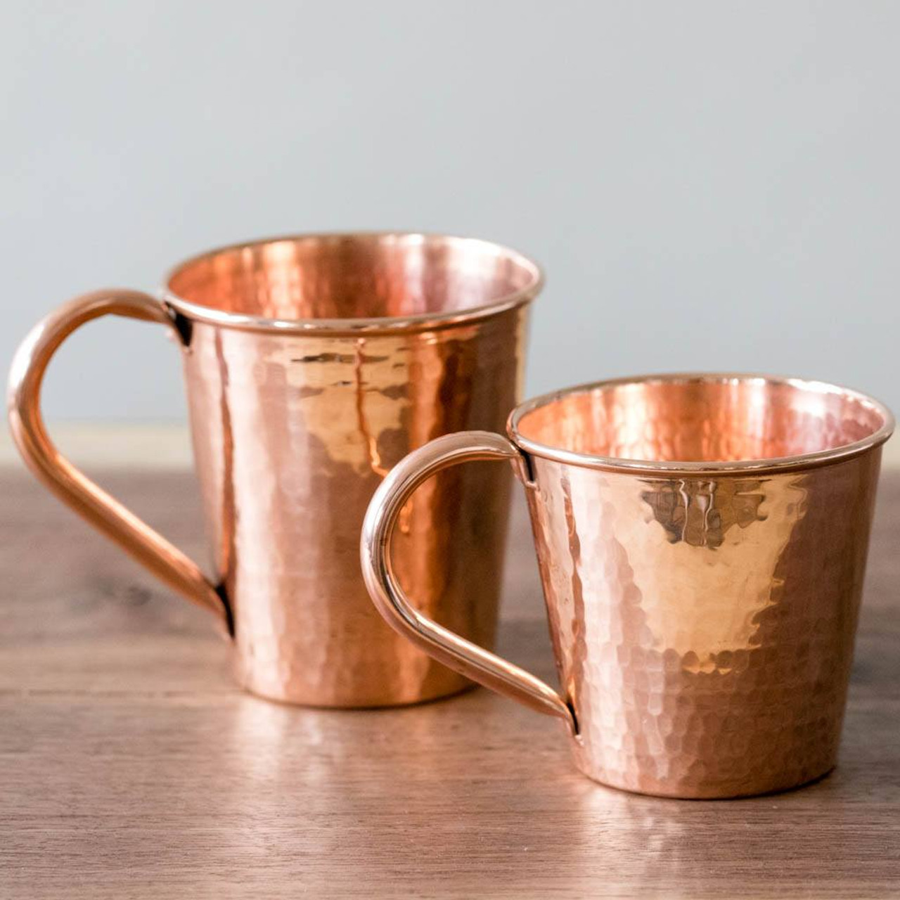 Artisan Crafted Hammered Copper Moscow Mule Mugs By Sertodo Copper Nicole Rhea
