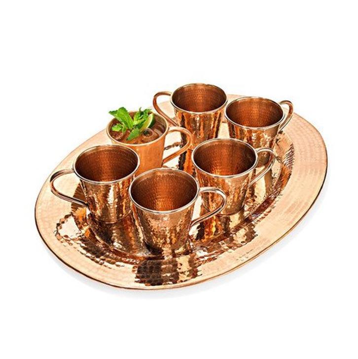 Copper Moscow Mule Mug Set (Oprah's Set)