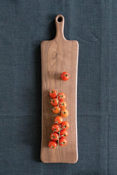 """Handmade Wooden Cutting Board by Rockledge Farm Woodworks 8"""" x 24"""" (Black Walnut)"""